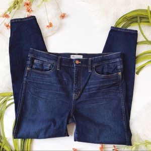 madewell high riser skinny jeans size 32